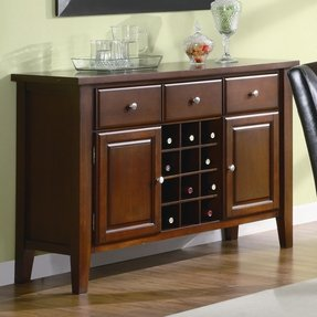 Sideboard buffet with wine rack 2