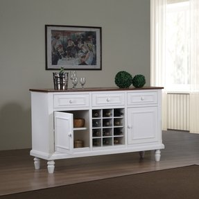 Sideboard Buffet With Wine Rack Ideas