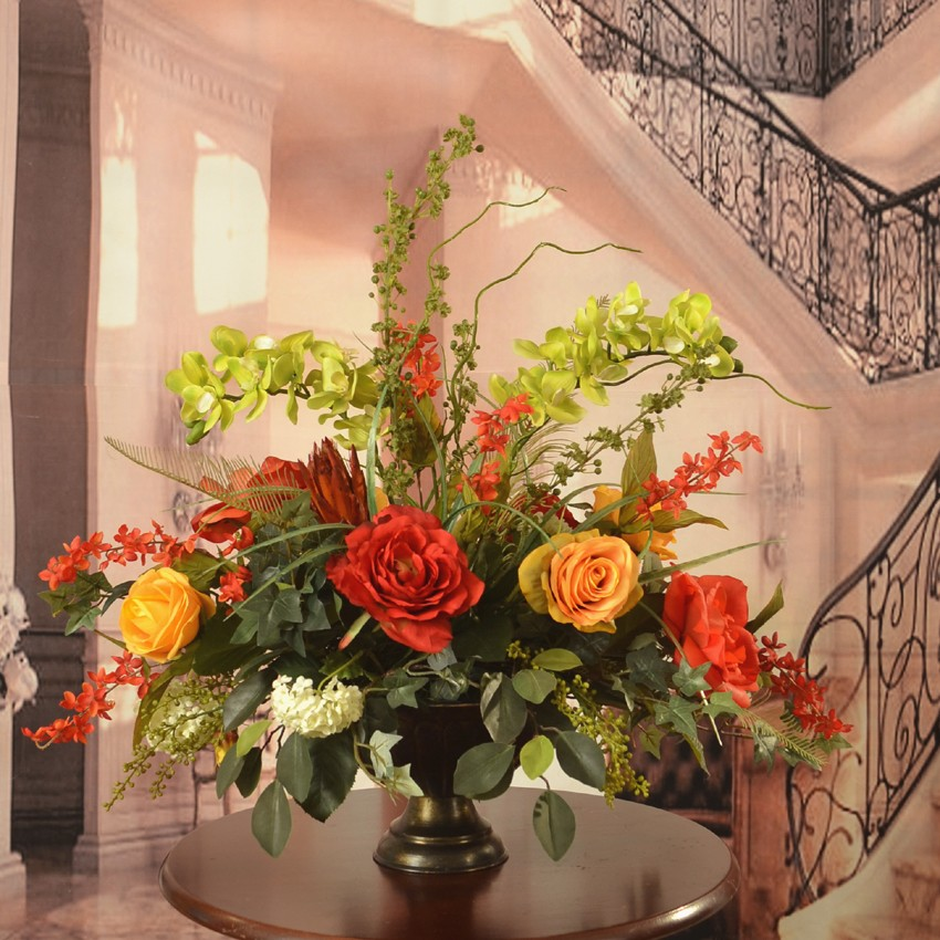 Bon Silk Flower Table Decorations