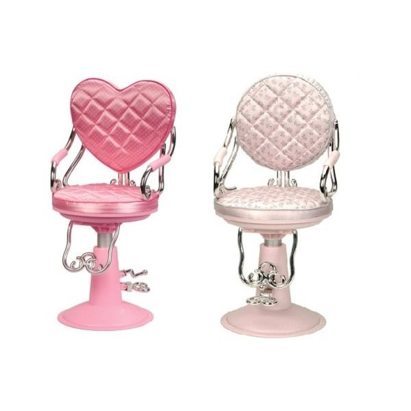 Silver Vanity Chair 1