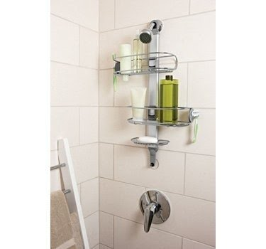 Simplehuman Adjustable Shower Caddy, Stainless Steel And Anodized Aluminum Pictures Gallery