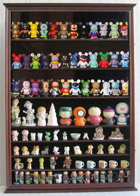 Small display cases