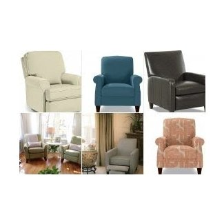 Small scale recliners