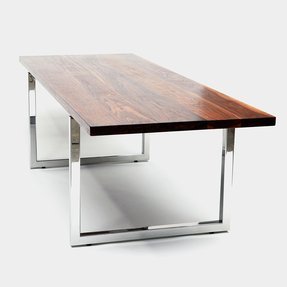 Stainless Steel Top Dining Table - Foter