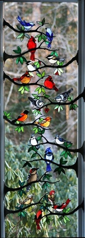 Buy Stained Glass Panels Foter