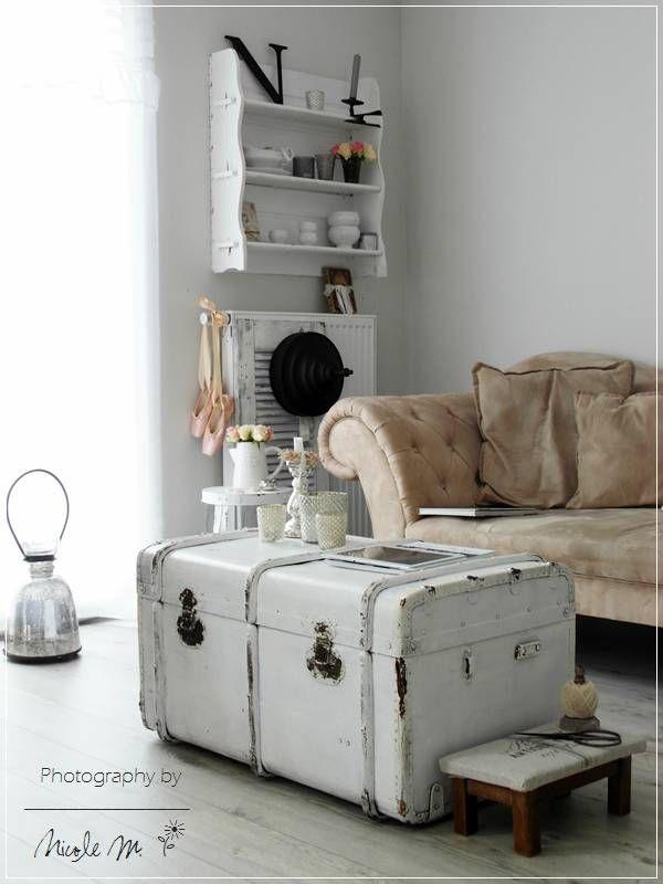 Steamer Trunk Table
