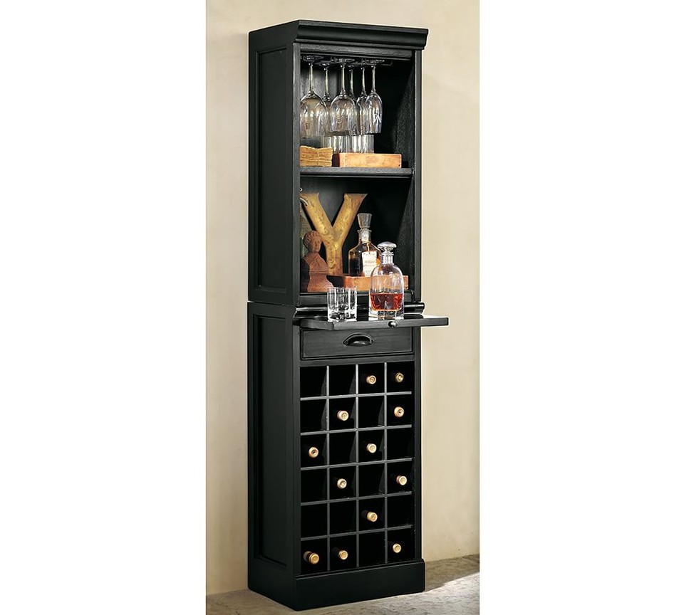 Attrayant Tall Wine Cabinet