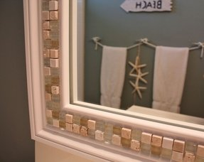 bathroom mirror frame tile. Tile Bathroom Mirror Frame R