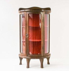 Small Gl Curio Cabinet Display Case