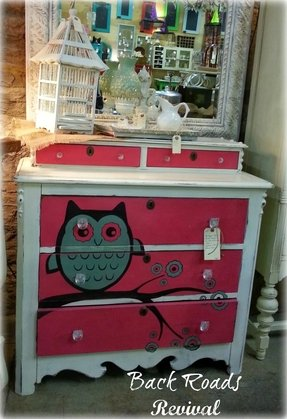 White chest of drawers nursery