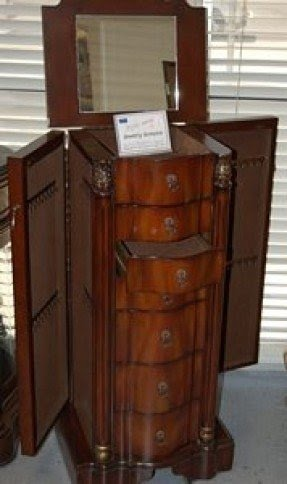 Cherry Wood Jewelry Armoire Foter