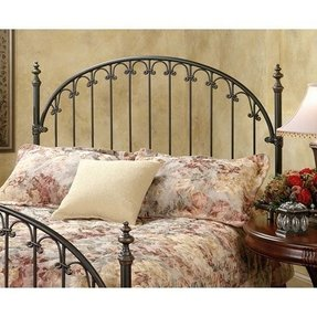 Wrought iron headboard full 9