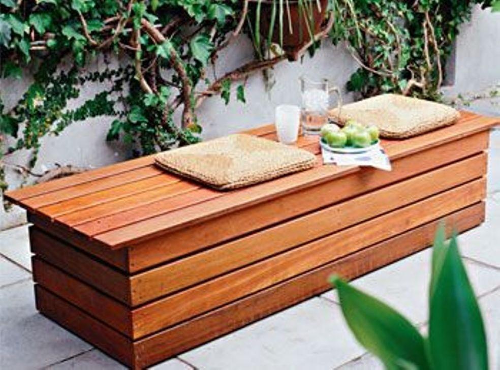 Delicieux Balcony Storage Bench
