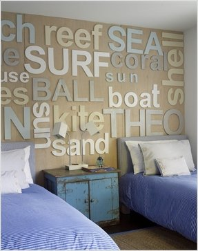 Beach themed wall decals foter for Kitchen cabinets lowes with sea themed wall art
