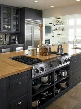 Black Butcher Block Island Ideas On Foter