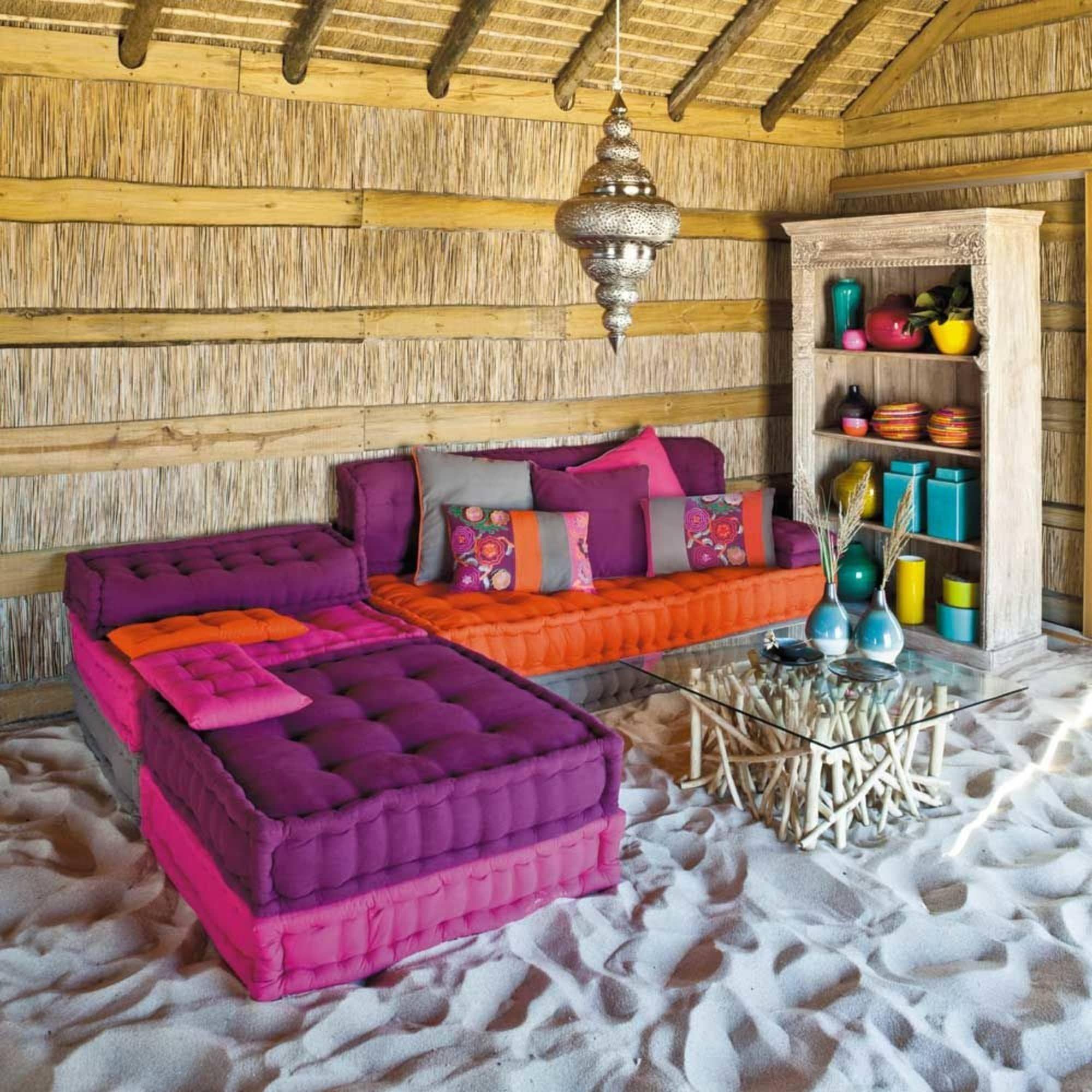 Lovely Bohemian Floor Pillows