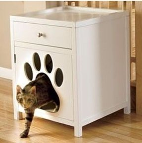 cat box cabinet furniture cat litter box cabinet foter 13286