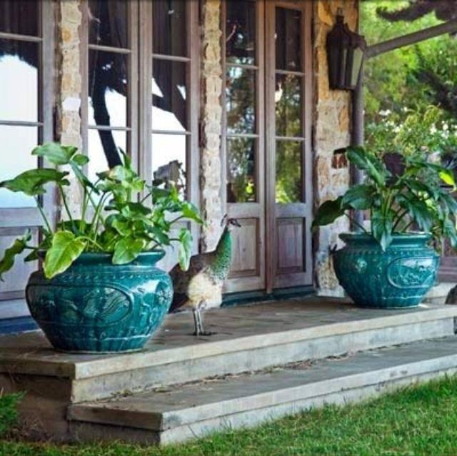 Ceramic Outdoor Planters