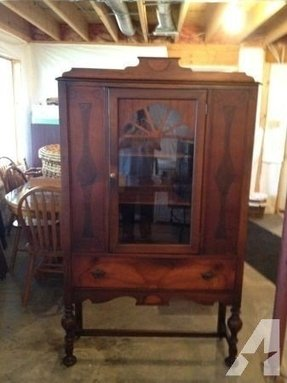 how the unfinished top cabinet build a china turned into chic hutch to modern curio from vintage of