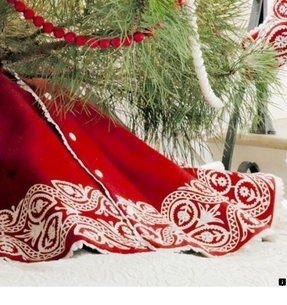 Christmas tree skirt quilt patterns