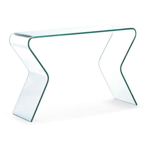 ... Clear Glass Console Table Foter Clear Acrylic Sofa Table  Watchthetrailerfo ...