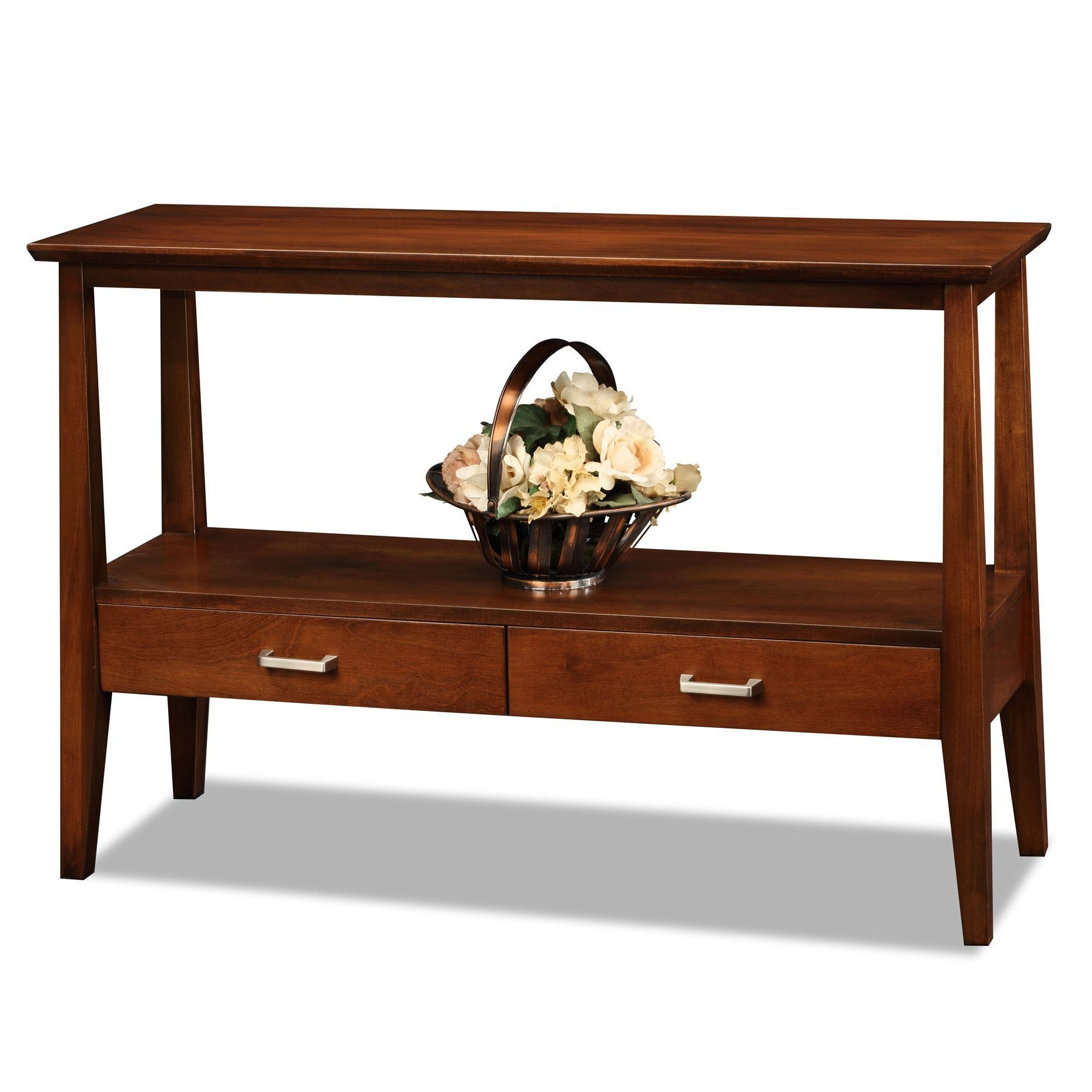Console Sofa Table With Storage Drawers Foter