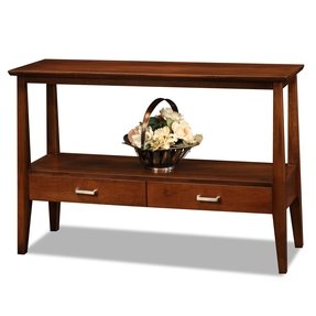 Console sofa table with storage drawers 23