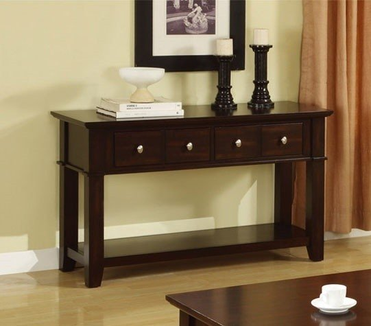 Console table with storage baskets & Console Sofa Table With Storage Drawers - Foter