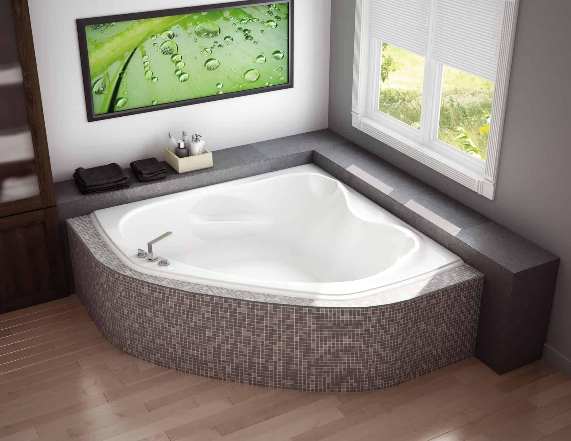 Corner Bathtub Sizes 1