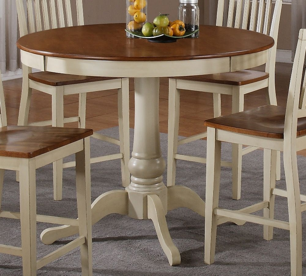 Superieur Counter Height Round Dining Table 9