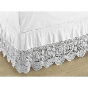 Crocheted bed skirts 1