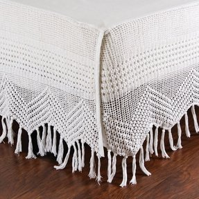 Crocheted bed skirts 2