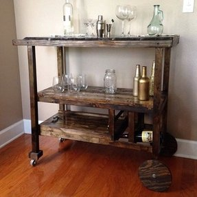 Custom bar cart 1