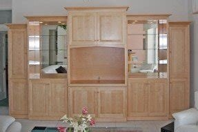 Custom maple entertainment center dutch haus custom furniture sarasota florida