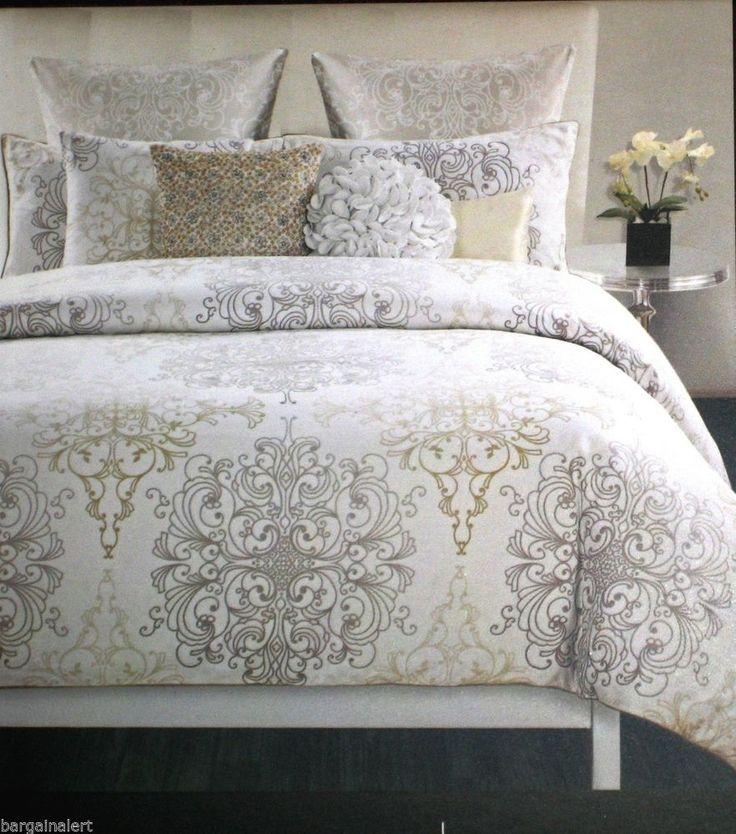 Huge King Size Broad Wide Stripe Bedding Set Zebra Lines Pillow Case Cover Duvet