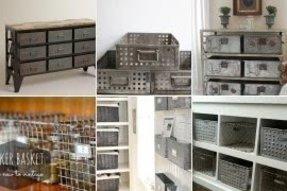 Decorative Metal Storage Bins Ideas On Foter