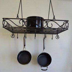 Wrought Iron Pot Rack Hooks - Foter