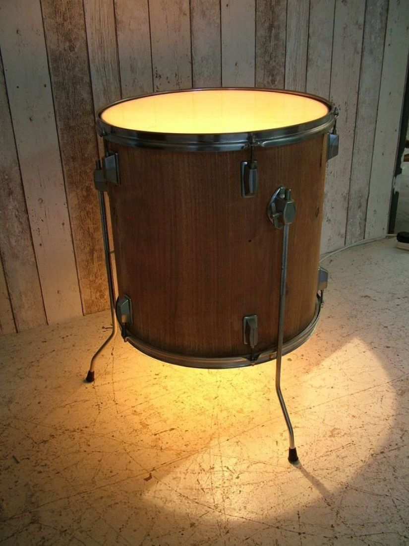 Drum Side Table 1