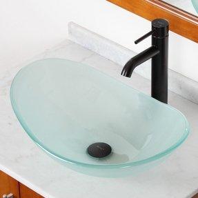 Oval Glass Vessel Sink Ideas On Foter