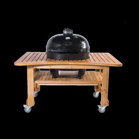 Extra large charcoal grill 6