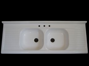 Fiberglass kitchen sink 32