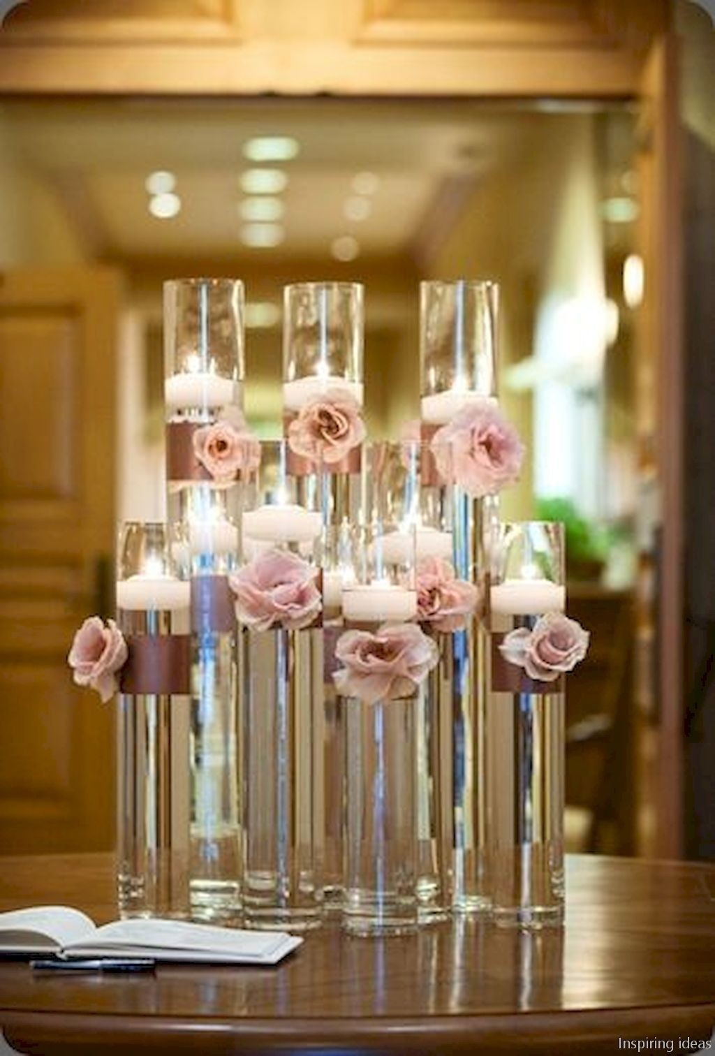 Charmant Flower Centerpieces For Dining Table