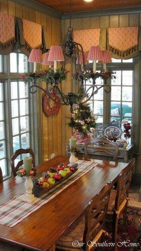 French country kitchen table 1