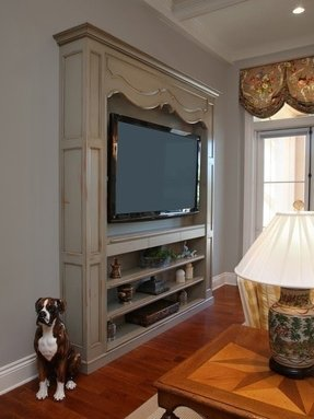 Made In The Country Style Tv Stand Is An Attractive Way For Original Interior Design Beautiful Decorative Elements French Are Captivating