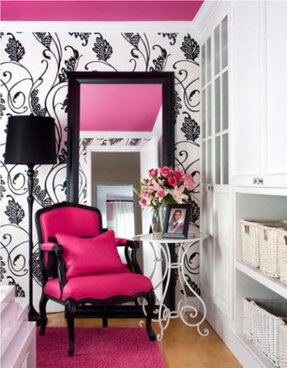 Hot Pink Accent Chair Foter