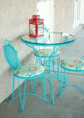 Glass Top Bistro Table Set Foter