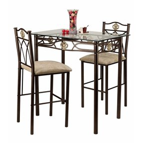 Glass Top Bistro Table Set Ideas On Foter