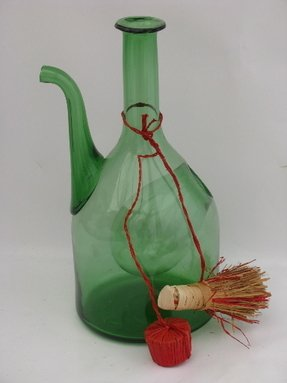 Hand blown wine decanter 2