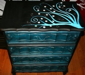 Handpainted Cabinets
