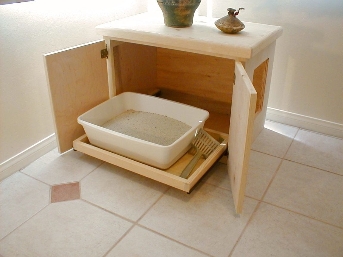 Cat Litter Box Covers Furniture - Ideas on Foter